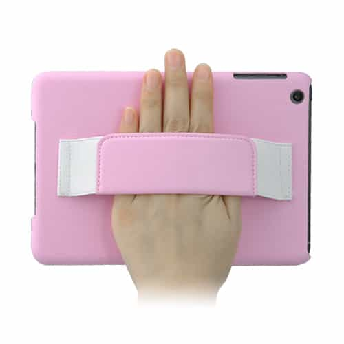 iPad Mini 1/2/3 - Hard cover m. litchi mønster - Pink-0