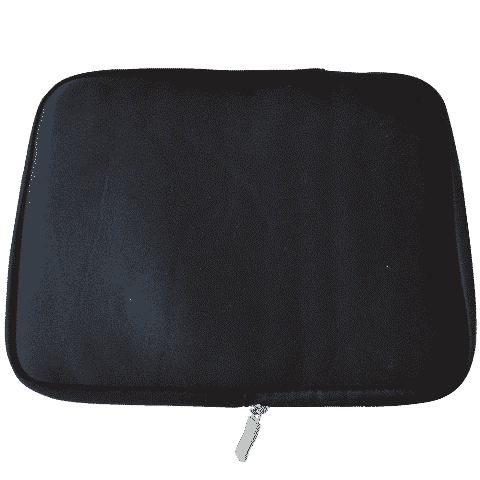 iPad 1/2/3/4/air - Sleeve anti-shock - Sort-0