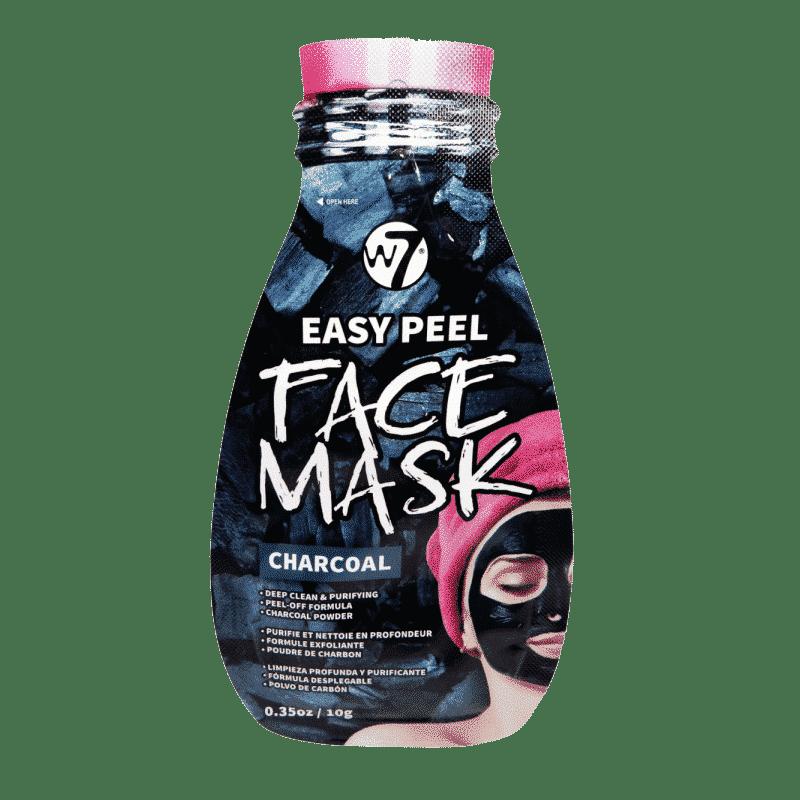 w easy peel charcoal face mask ansigtsmaske g