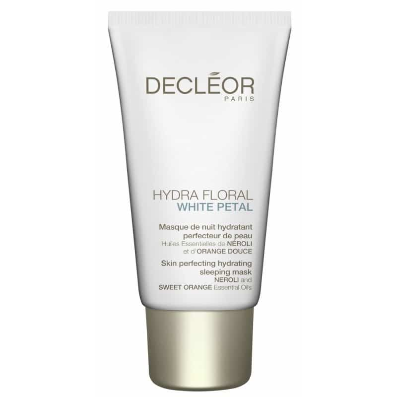 decl or hydra floral white petal hydrating sleeping mask ml