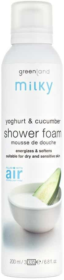 Gl Milky Foam Shower Yogurt-cucumber 200ml
