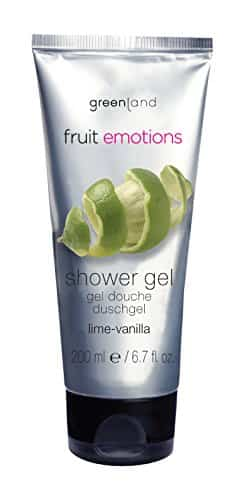 greenland fruit emotions vanilla lime showergel ml