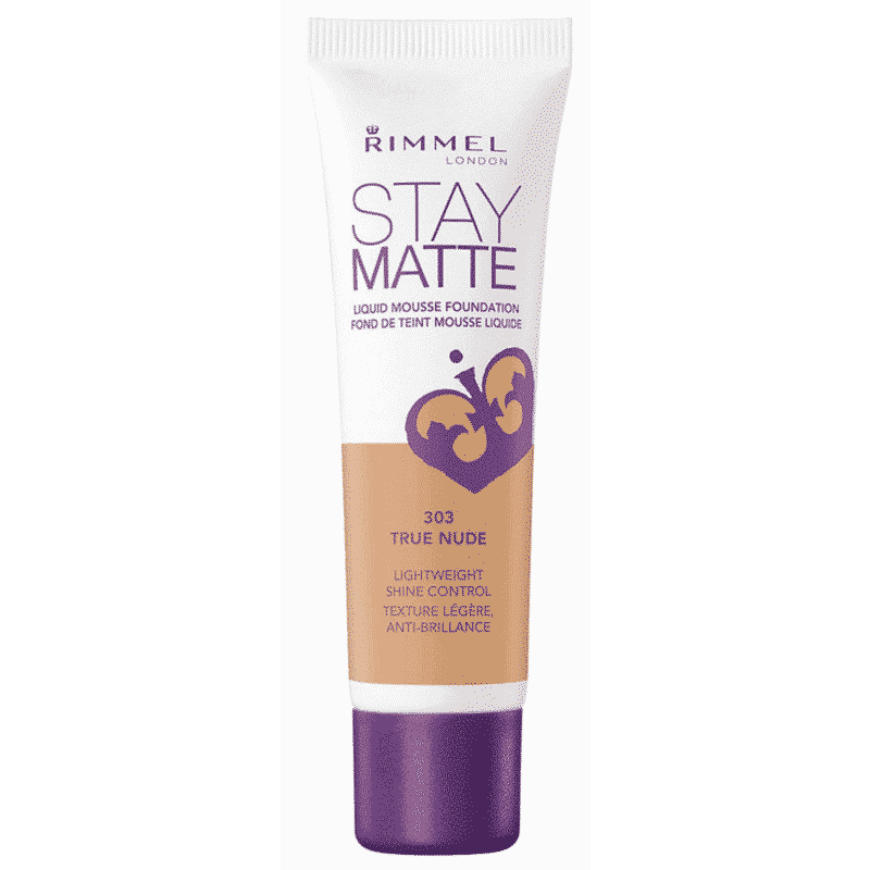 Rimmel Stay Matte Liquid Mousse Foundation 303 True Nude 30 Ml