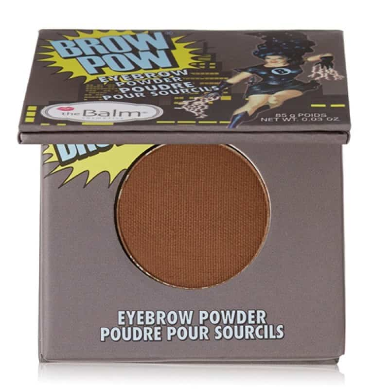 The Balm Brow Pow Eyebrow Powder Light Brown Jenbrynsskygge 0 28 G