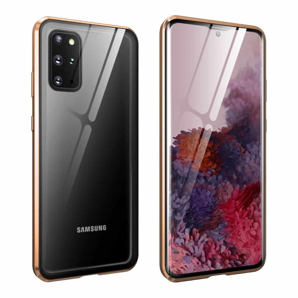 Samsung S20 Lite Perfect Cover Guld