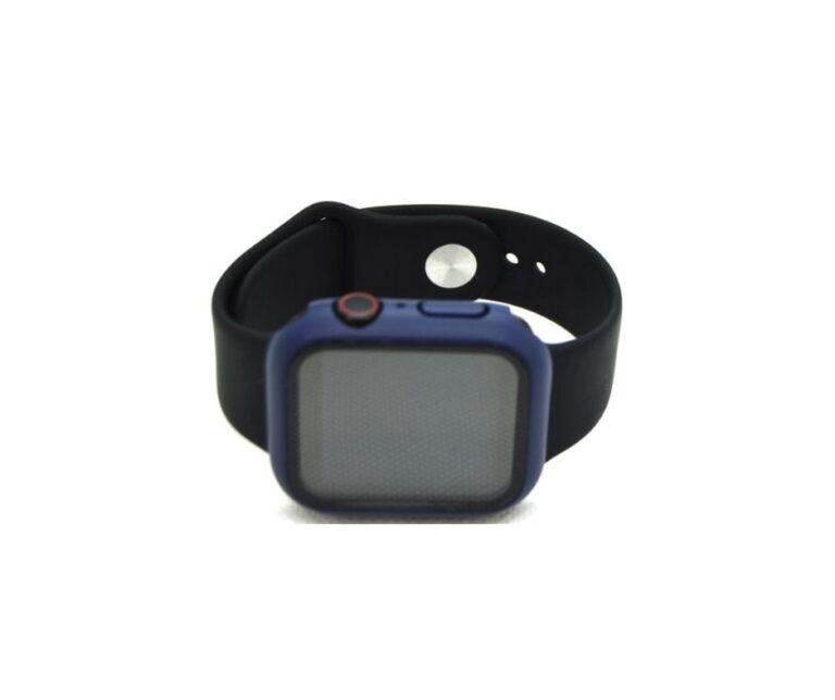 Apple-watch-full-protection-navy-blaa-40mm-beskyttelse