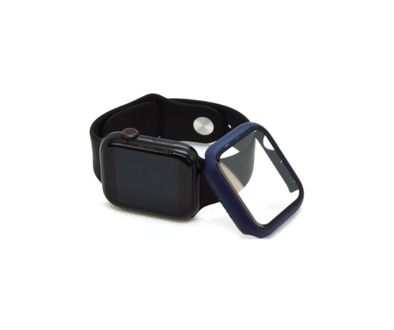 Apple-watch-full-protection-navy-blaa-40mm-cover