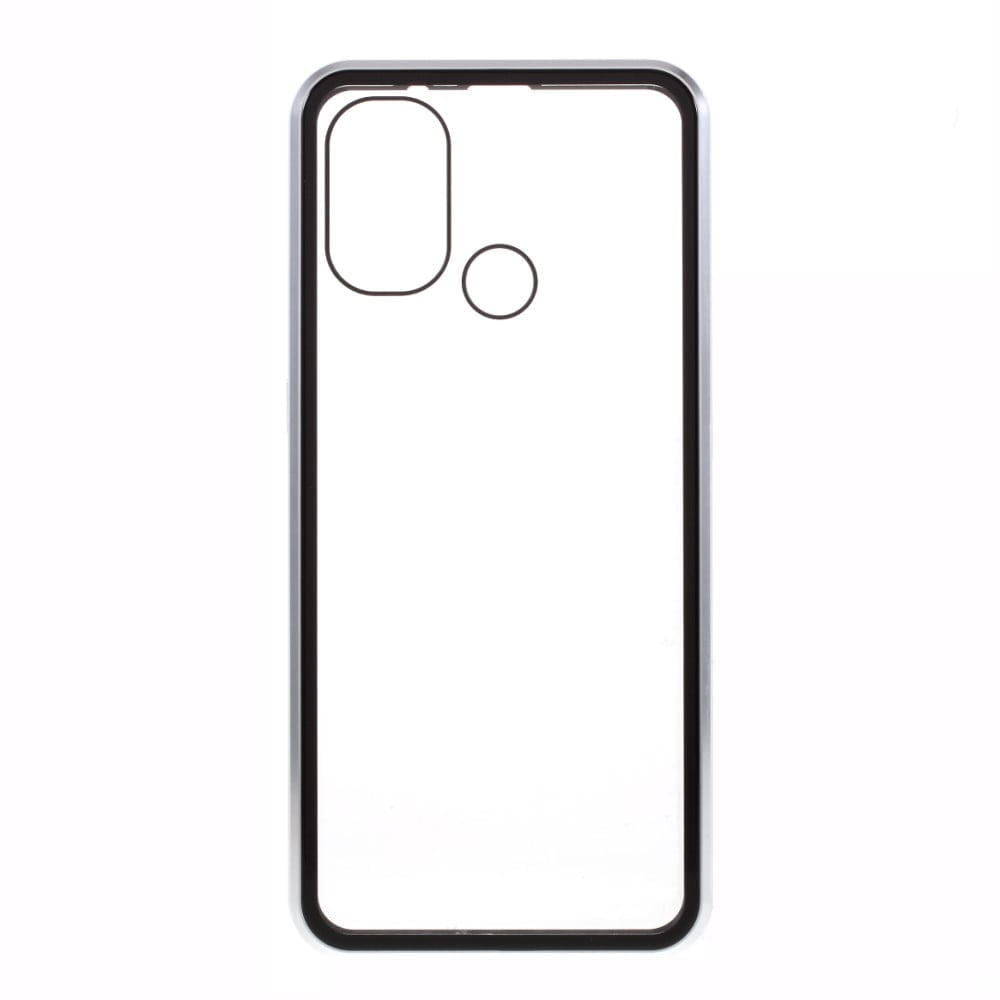 OnePlus Nord N100 Perfect Cover Sølv