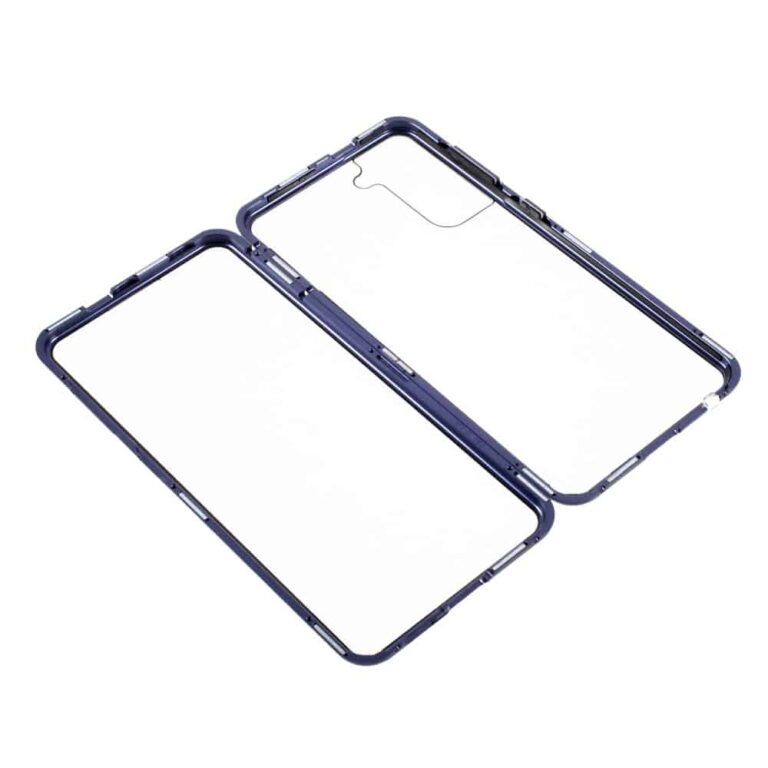 Samsung-s21-perfect-cover-blaa-beskyttelse