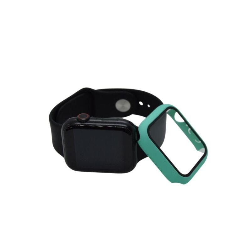 Apple-watch-full-protection-cyan-38mm-beskyttelsesglas