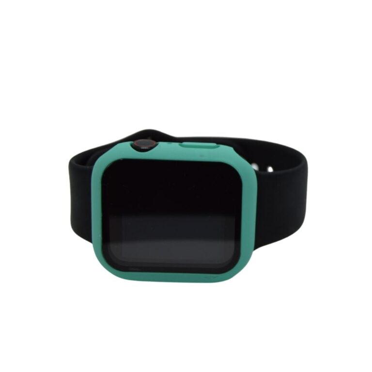 Apple-watch-full-protection-cyan-44mm-beskyttelse