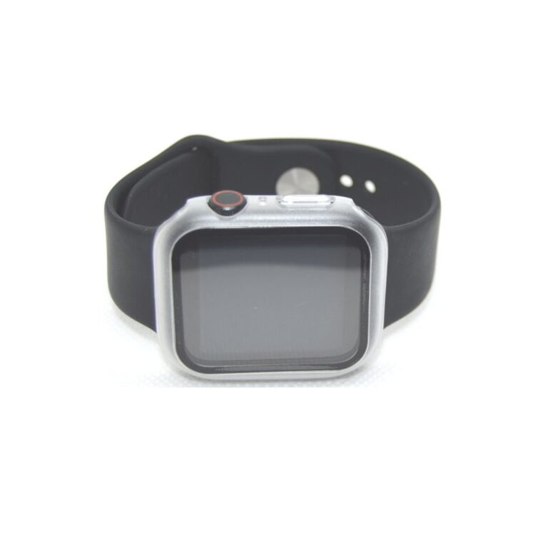 Apple-watch-full-protection-transparent-44mm-beksyttelsesglas