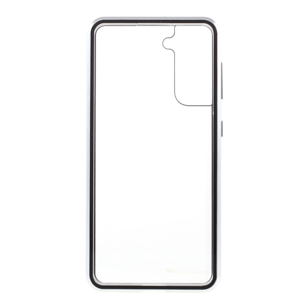 Samsung S21 Perfect Cover Sølv