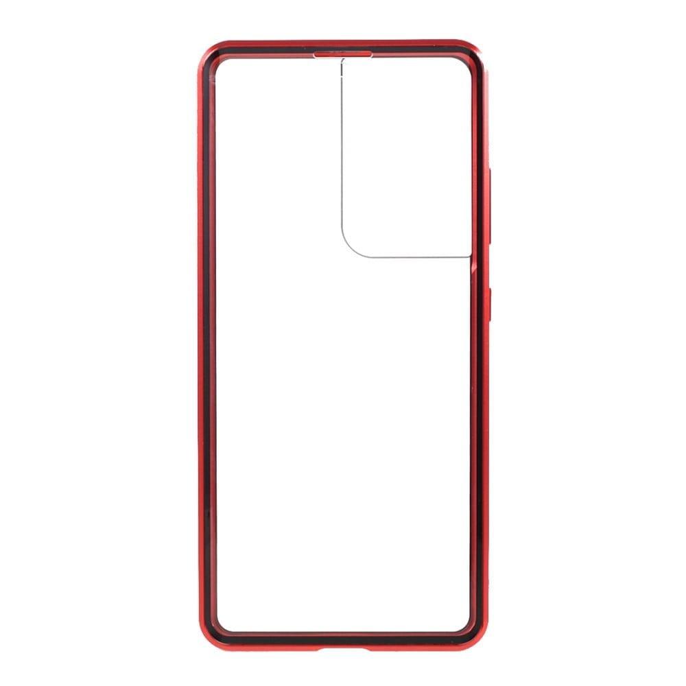 Samsung S21 Ultra Perfect Cover Rød