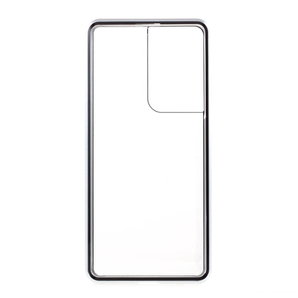 Samsung S21 Ultra Perfect Cover Sølv