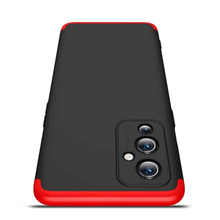 Oneplus-9-360-beskyttelsescover-sortroed-mobilcover