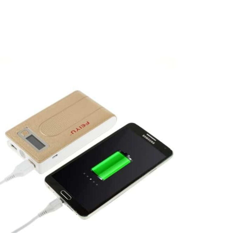 Powerbank-15000-mah-guldfarve-oplader
