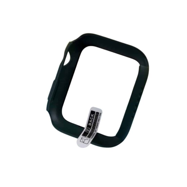 Apple-watch-full-protection-moerkegroen-40mm-cover
