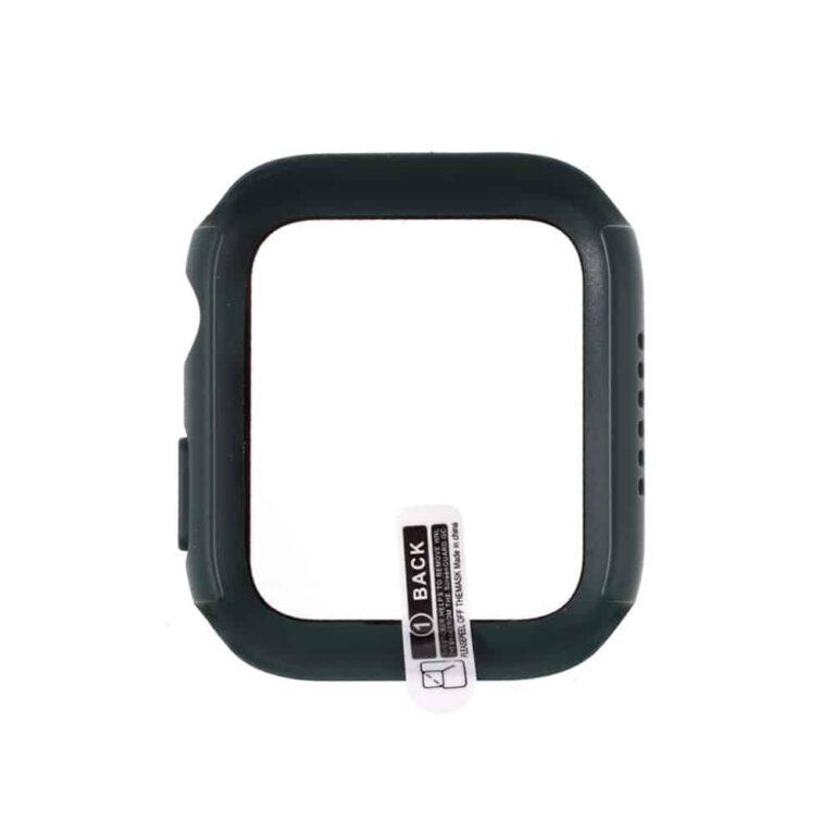 Apple-watch-full-protection-moerkegroen-44mm-beskyttelse