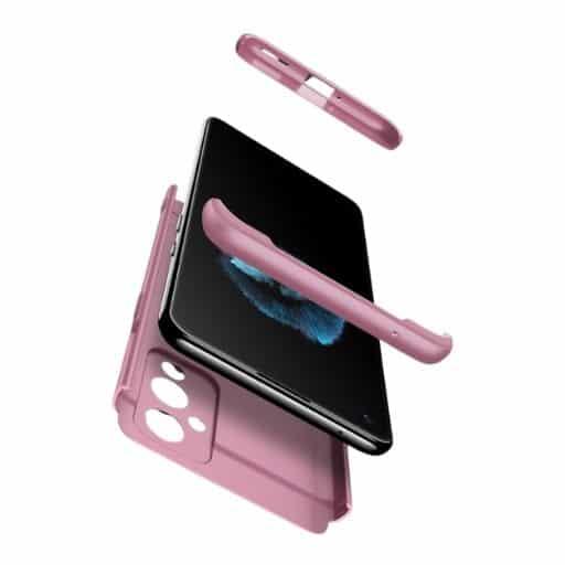 Oneplus-9-360-beskyttelsescover-rosa-beskyttelse