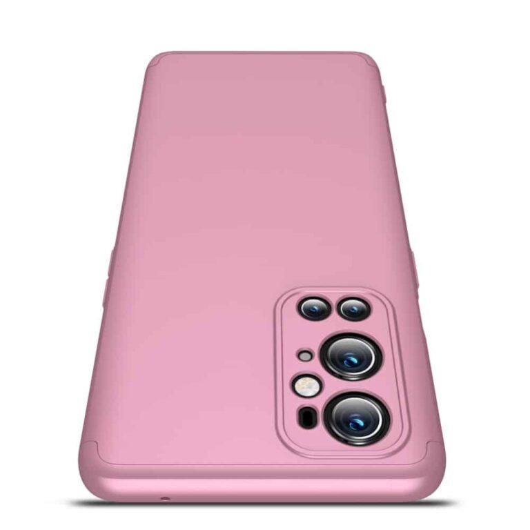 Oneplus-9-pro-360-beskyttelsescover-rosa-mobilcover