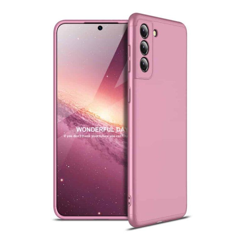 Samsung-s21-360-beskyttelsescover-rosa