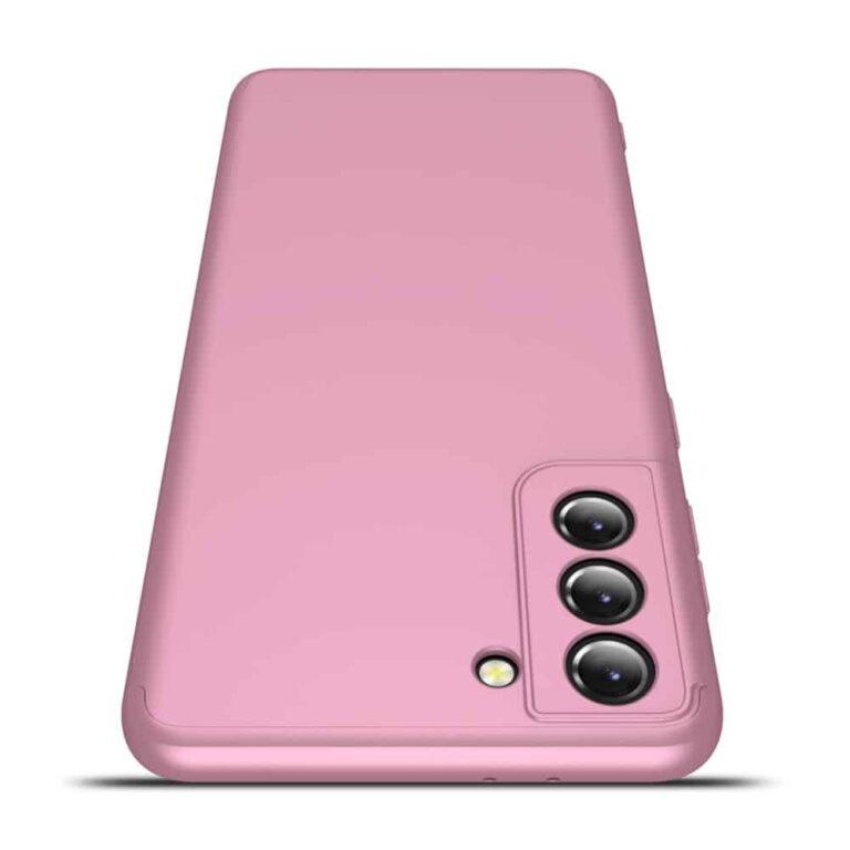 Samsung-s21-360-beskyttelsescover-rosa-mobilcover