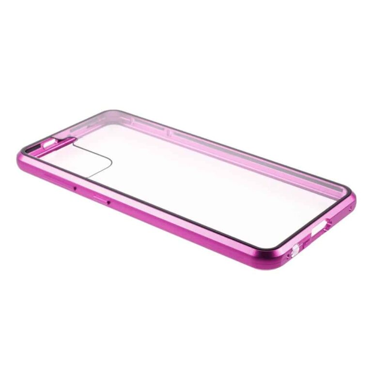 Samsung-s21-plus-perfect-cover-lilla-beskyttelse