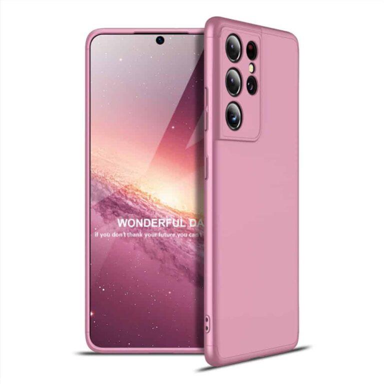 Samsung-s21-ultra-360-beskyttelsescover-rosa