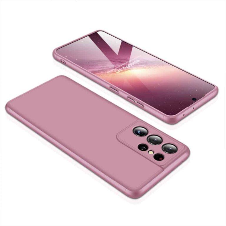 Samsung-s21-ultra-360-beskyttelsescover-rosa-cover