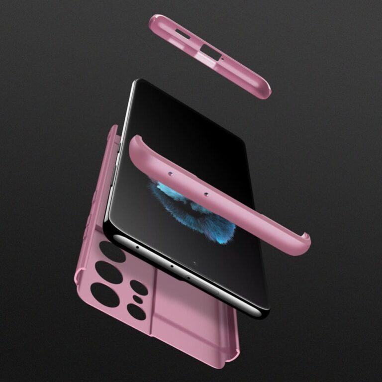 Samsung-s21-ultra-360-beskyttelsescover-rosa-mobil-cover