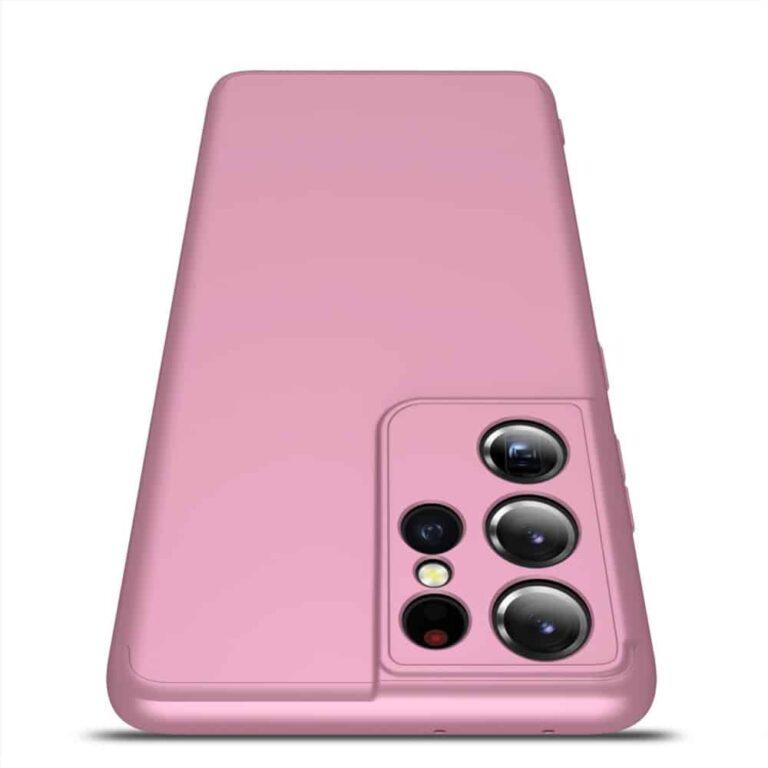 Samsung-s21-ultra-360-beskyttelsescover-rosa-mobilcover