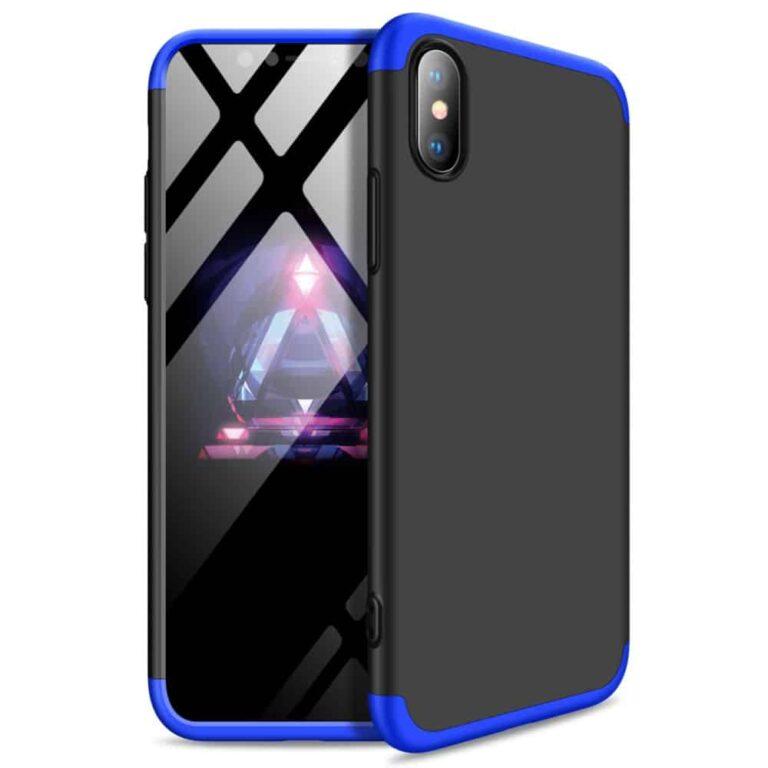 Iphone-xr-360-beskyttelsescover-sortblaa