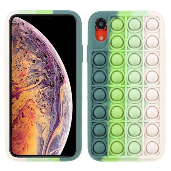 Iphone-xr-popit-cover-groen-1