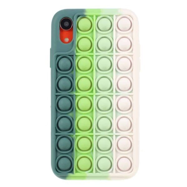 Iphone-xr-popit-cover-groen-2