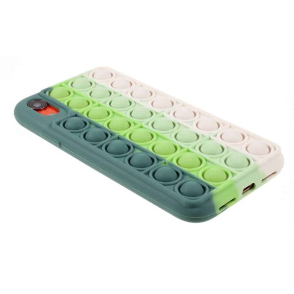 Iphone-xr-popit-cover-groen-4