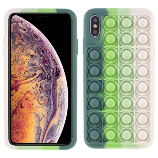 Iphone-xs-max-popit-cover-groen-1